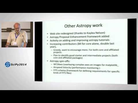 Image from Astropy in 2014: What's new, where we are headed