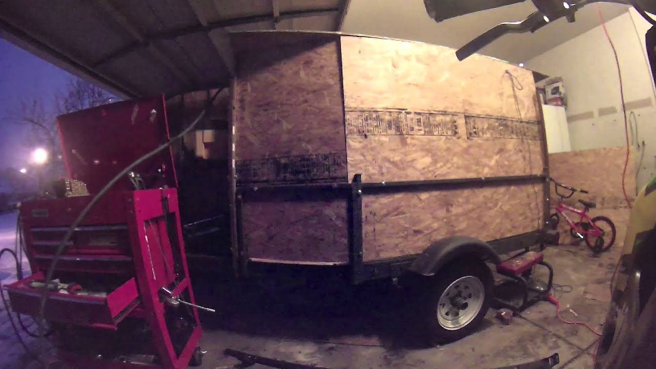 Build A Bug Out Trailer : Homemade bug out trailer car interior design