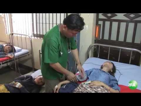 More and More Cambodian Garment Workers Faints