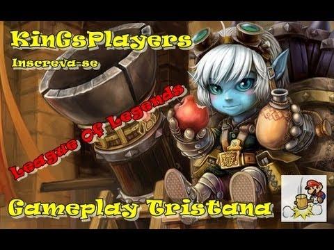 League Of Legends Gameplay Tristana[BR-PT]