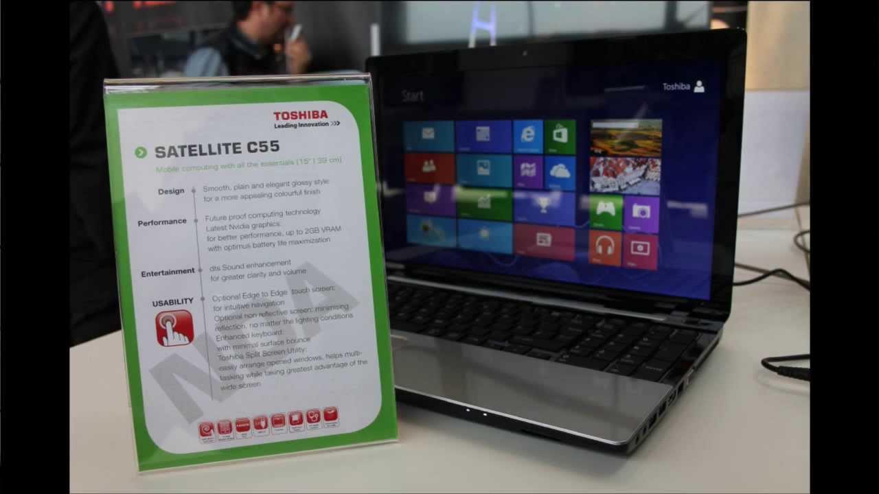 Laptop Toshiba Satellite C55-A5282