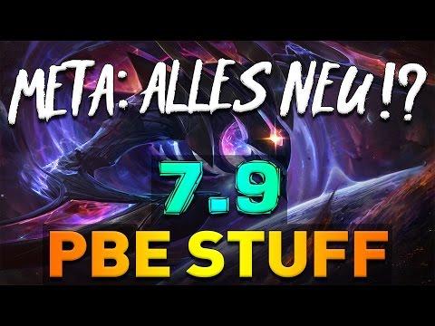 PBE STUFF - LOL Patch 7.9 - Meta neu definiert ! Midseason Update New Skins, Reworks, Items German