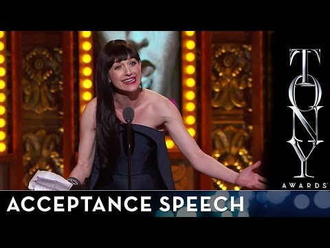 2014 Tony Awards: Acceptance Speech - Lena Hall