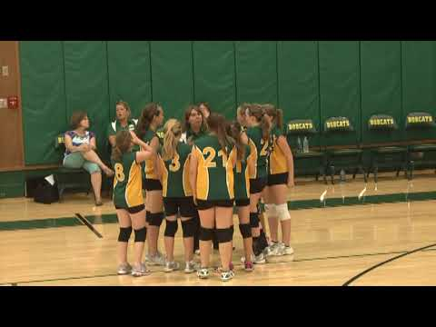 NAC - Saranac Lake JV Volleyball 9-12-13