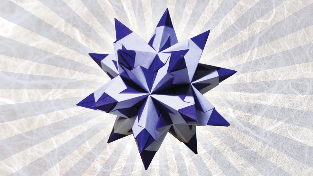 origami star folding instructions