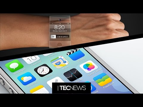 Relógios da Apple (iWatch) e iOS 7 em 90% dos aparelhos   TecNews