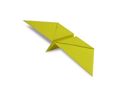 Hướng dẫn cách gấp con bướm bay giấy - Xếp hình Origami - How to make a Flapping Butterfly