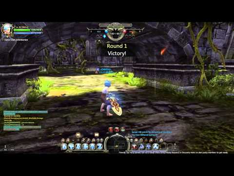 Dragon Nest - llXakzll Moonlord vs. Barbarian