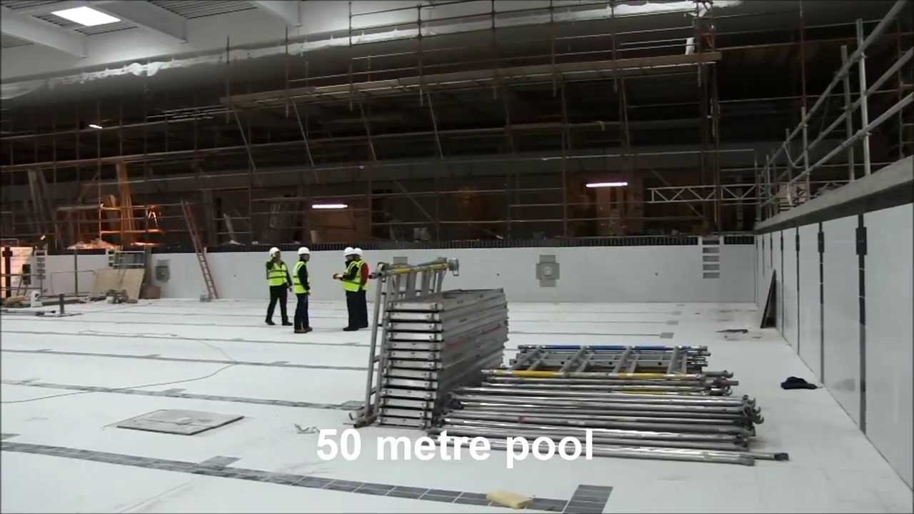 Aberdeen Sports Village Aquatics Centre August 2013 Youtube