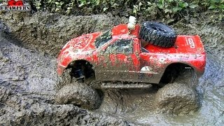 RC Trucks Mud SPA! 11 Trucks Mudding At Butterfly Trail