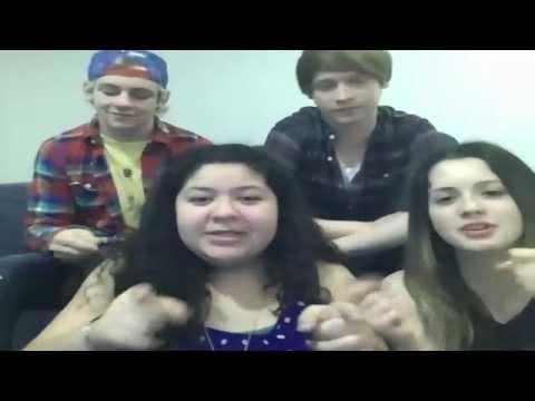 Austin & Ally Cast Live Stream December 3, 2012
