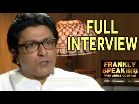 Frankly Speaking with Raj Thackeray - Full Interview