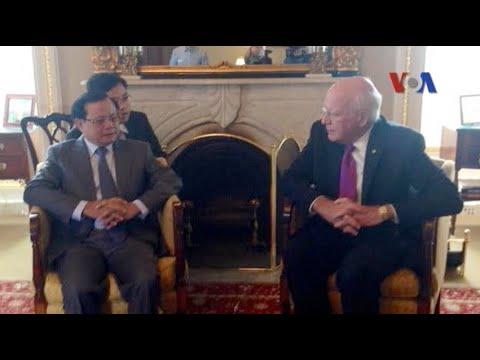 Bí thư Thành ủy Hà Nội Phạm Quang Nghị đang đi thăm Hoa Kỳ