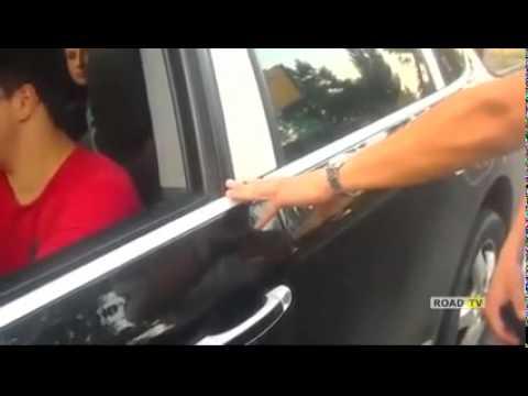 Погоня новой полиции за Porsche Cayenne