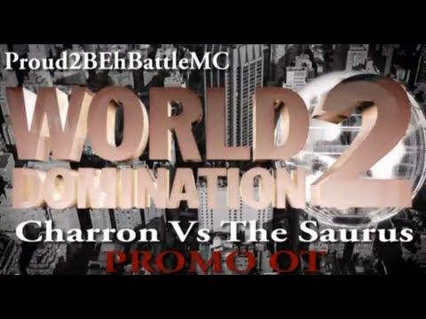 KOTD - The Saurus vs Charron Promo OT (Proud2BEhBattleMC WD2)