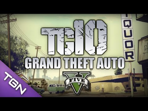 TG10 : Top 10 Things To Do In Grand Theft Auto 5, Gonna catch a Bigfoot.  Probably.