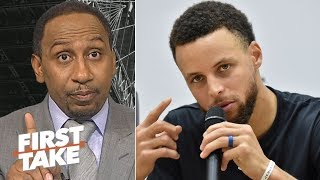 Stephen A. warns: Don't sleep on the Warriors! | First Take