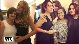 Iulia Vantur's Birthday bash with Khan family
