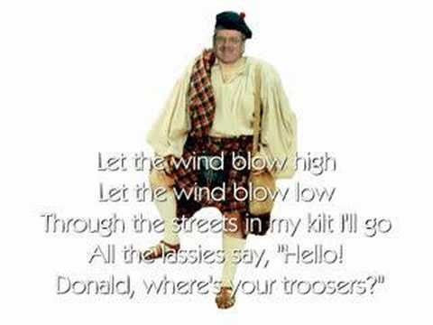 Donald Where's Your Troosers?- Andy Stewart ... - YouTube