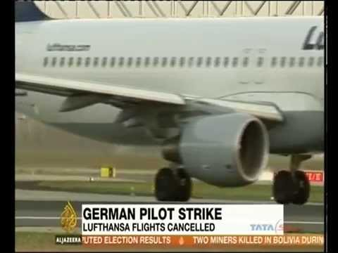 Lufthansa pilots strike causes huge flight cancellation
