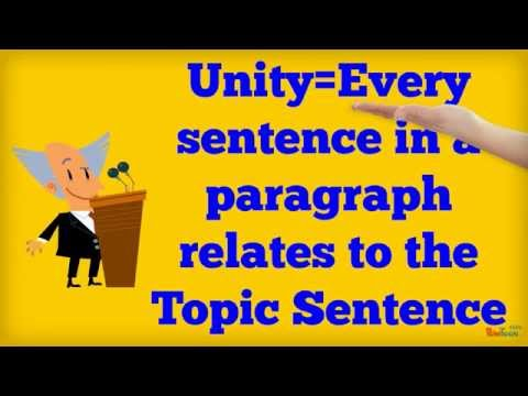 example of unity coherence and emphasis Unity, coherence and emphasis in writing paragraph paragraph writing a good and clear paragraph allows the writers to make their readers understand the ideas they want to imply.