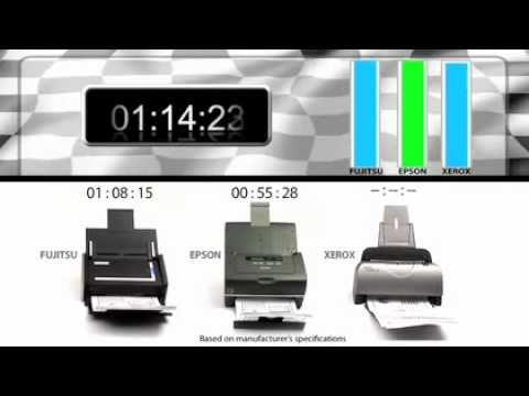 Epson WorkForce Pro GT S50 Document Scanner Wins Speed Shoot Out!