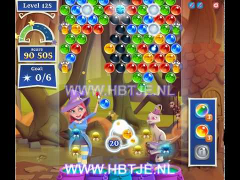Bubble Witch Saga 2 level 125