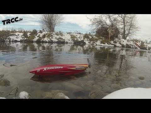 TRCC BOATS - Most FAIL first run EVER! Joysway Super Mono X