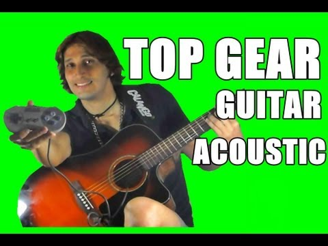 Top Gear - Super Nintendo Music [Cover Acoustic Guitar solo] by André Luiz Channel