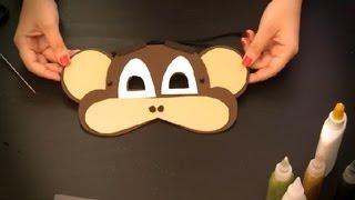 Como hacer un antifaz de mono