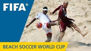 HIGHLIGHTS: Madagascar v. Russia - FIFA Beach Soccer World Cup 2015