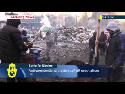 Battle for Ukraine: Protesters seize power in several regions and more buildings in capital