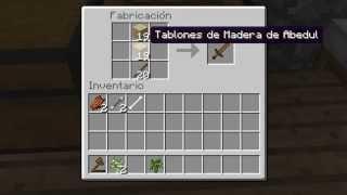 Minecraft Como Hacer Una Espada