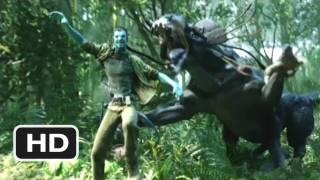 Avatar #7 Movie CLIP Thanator Chase (2009) HD