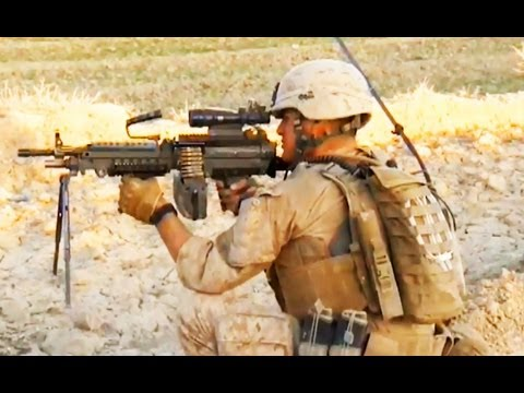 *RAW* INTENSE 2012 FIREFIGHT WITH U.S MARINES AND TALIBAN | FUNKER530