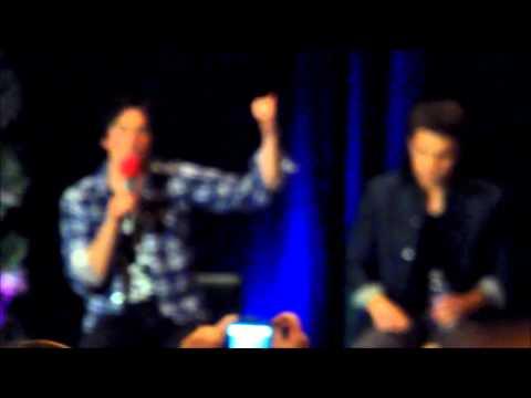 Paul Wesley & Ian Somerhalder - TVD Chicago 2014 - Switching bodies + Delena vs Stelena