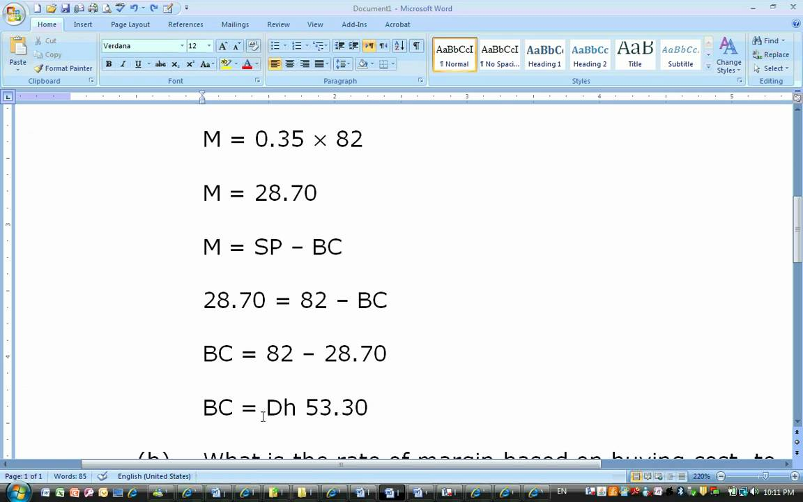 Percent Markup Worksheet | Free Printable Math Worksheets - Mibb ...