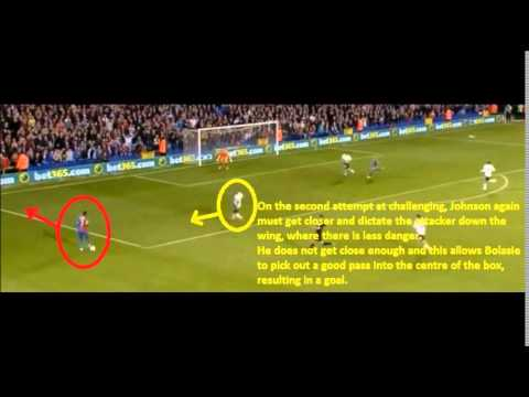 Glen Johnson analysis & Pablo Zabaleta Comparison