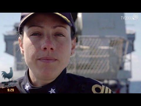 Immigrazione: l'eroismo del primo comandante donna Catia Pellegrino