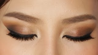 Easy Brown Smokey Eye Makeup Tutorial