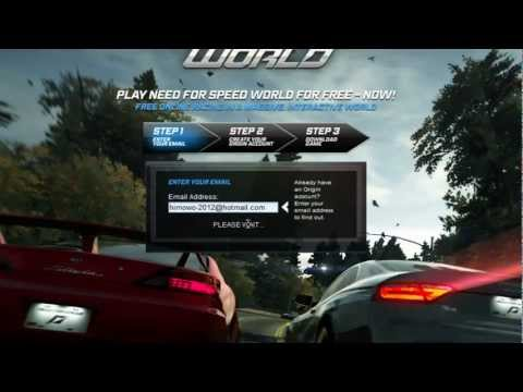 تحميل لعبة Need For Speed World2013