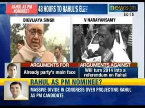 Massive divide in Congress over projecting Rahul Gandhi as Prime Minister Candidate - NewsX