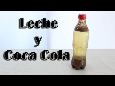 Coca Cola con leche ¿WTF? (Experimentos Caseros)