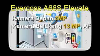 Evercoss A66S Elevate Kamera 13MP Fitur Menarik: Harga N