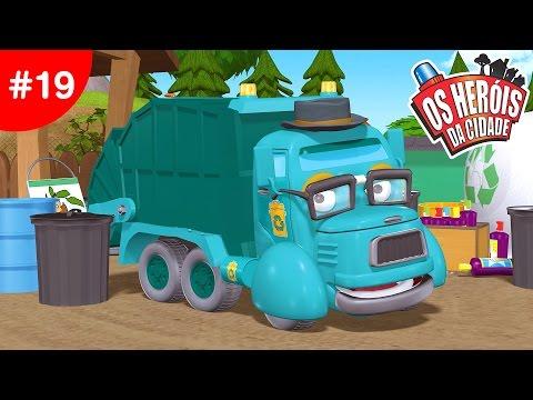 Os Heróis da Cidade - EP19 A festa do lixo