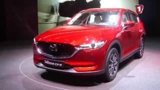Женева 2017 Mazda CX-5. Первый Автомобильный канал.