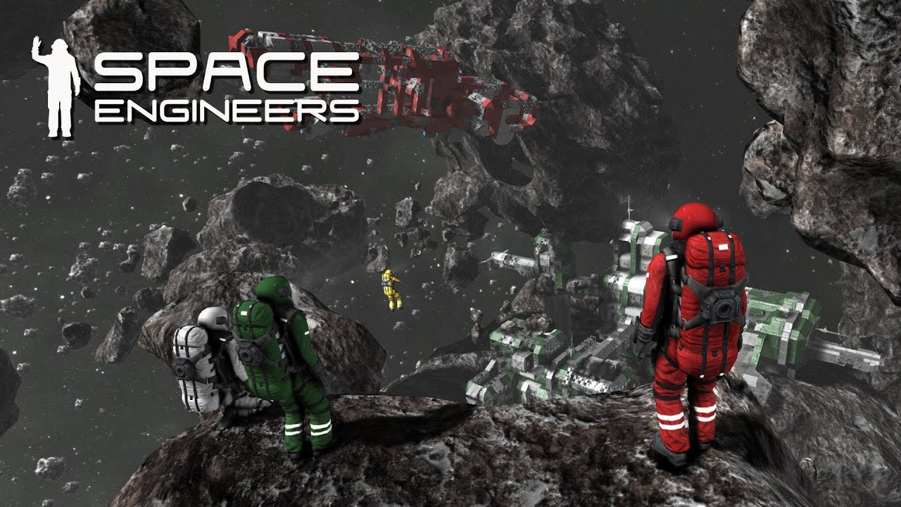 Space Engineers Wallpaper Space Engineers Alpha Footage YouTube
