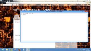 How To Download Karaoke Of Malayalam , Hindi , Tamil Songs