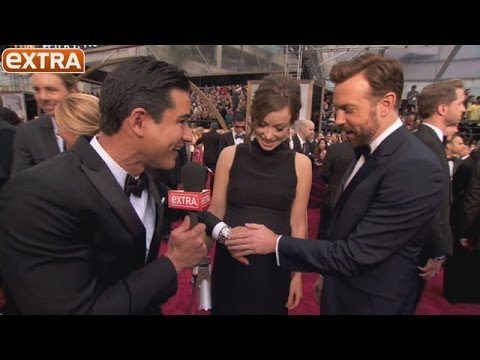 Oscars 2014: Did Olivia and Jason Just Reveal Their Baby's Name?