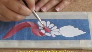 Pintar Manteles 3 Pintura Facil Para Ti.wmv